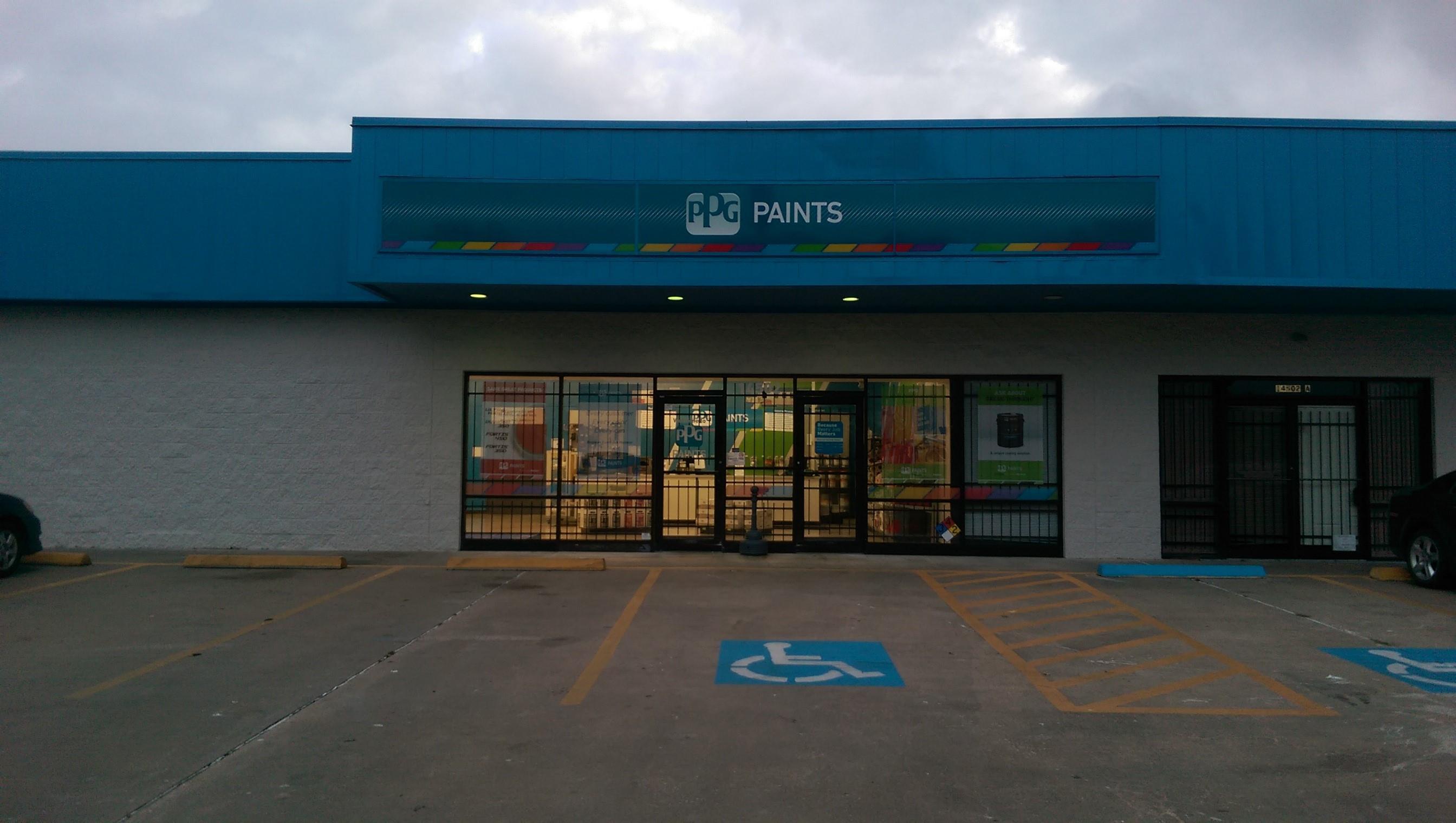 ppg paints houston paint store