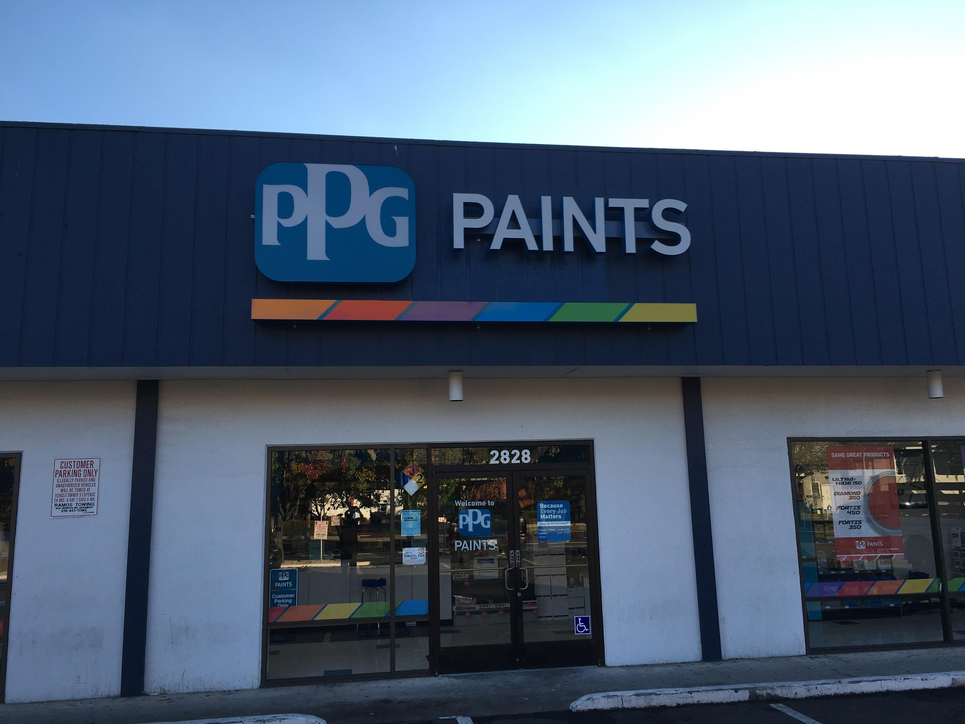 ppg paints sacramento paint store