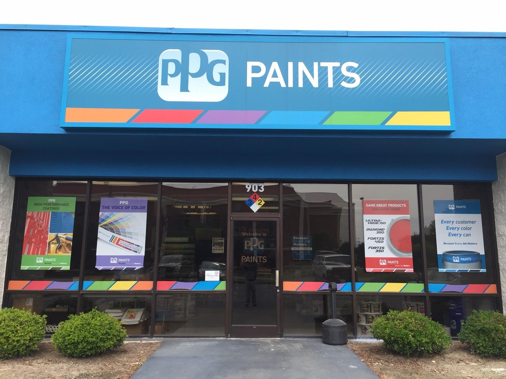 100 color ppg paints coatings and ppg debuts new for Ppg automotive paint store