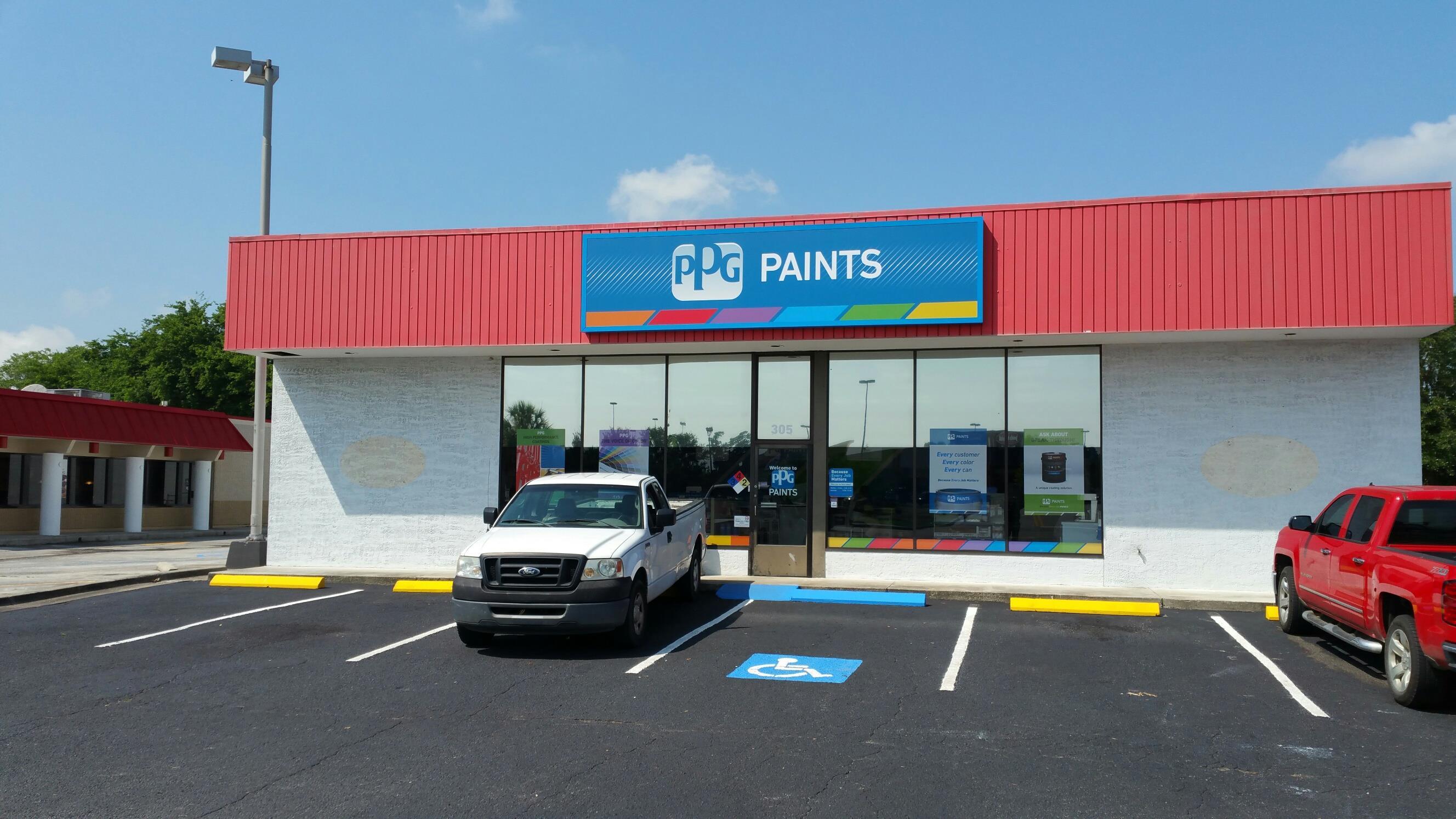 Ppg paints savannah paint store for Ppg automotive paint store