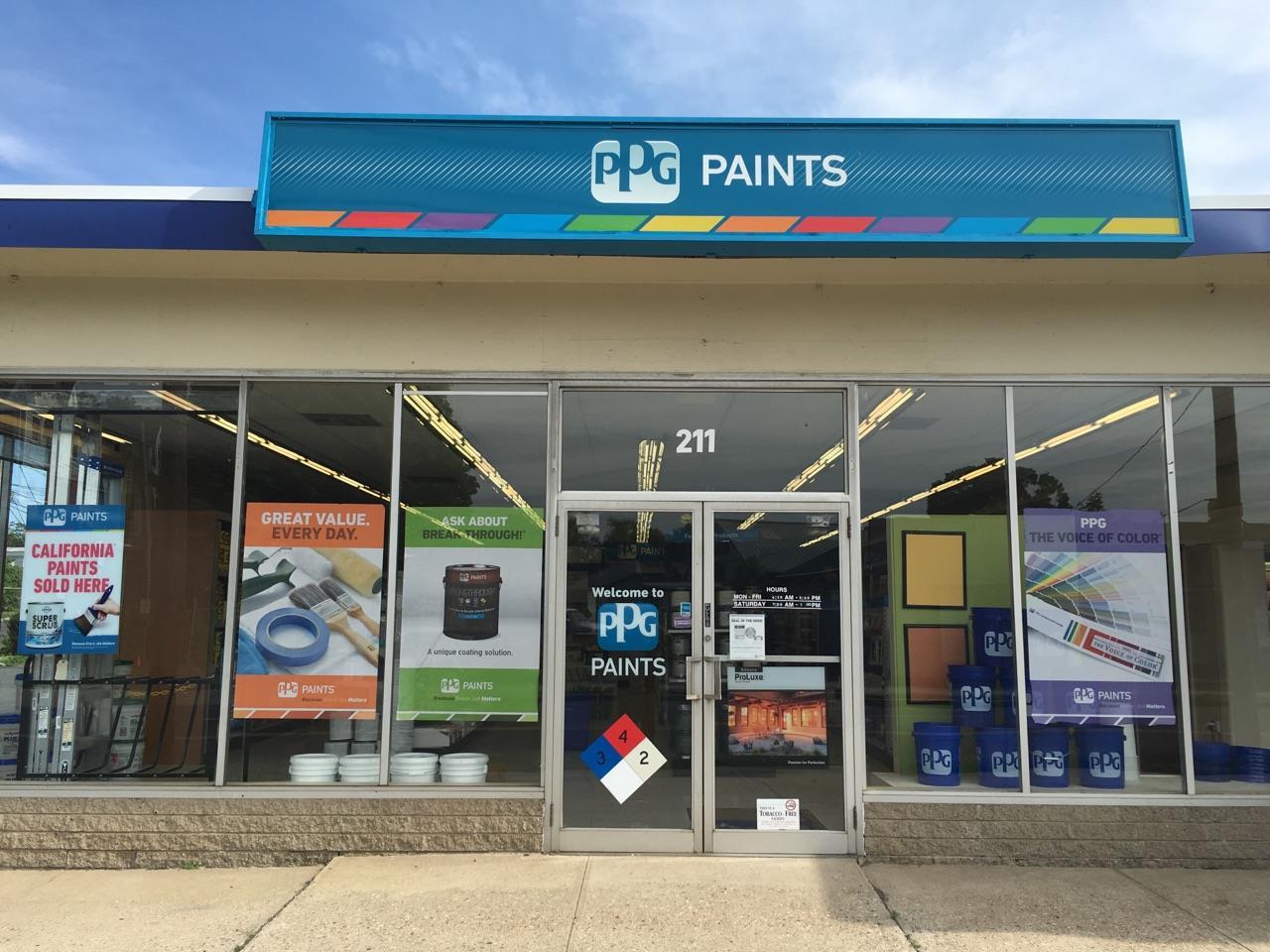 Ppg paints danbury paint store for Ppg automotive paint store