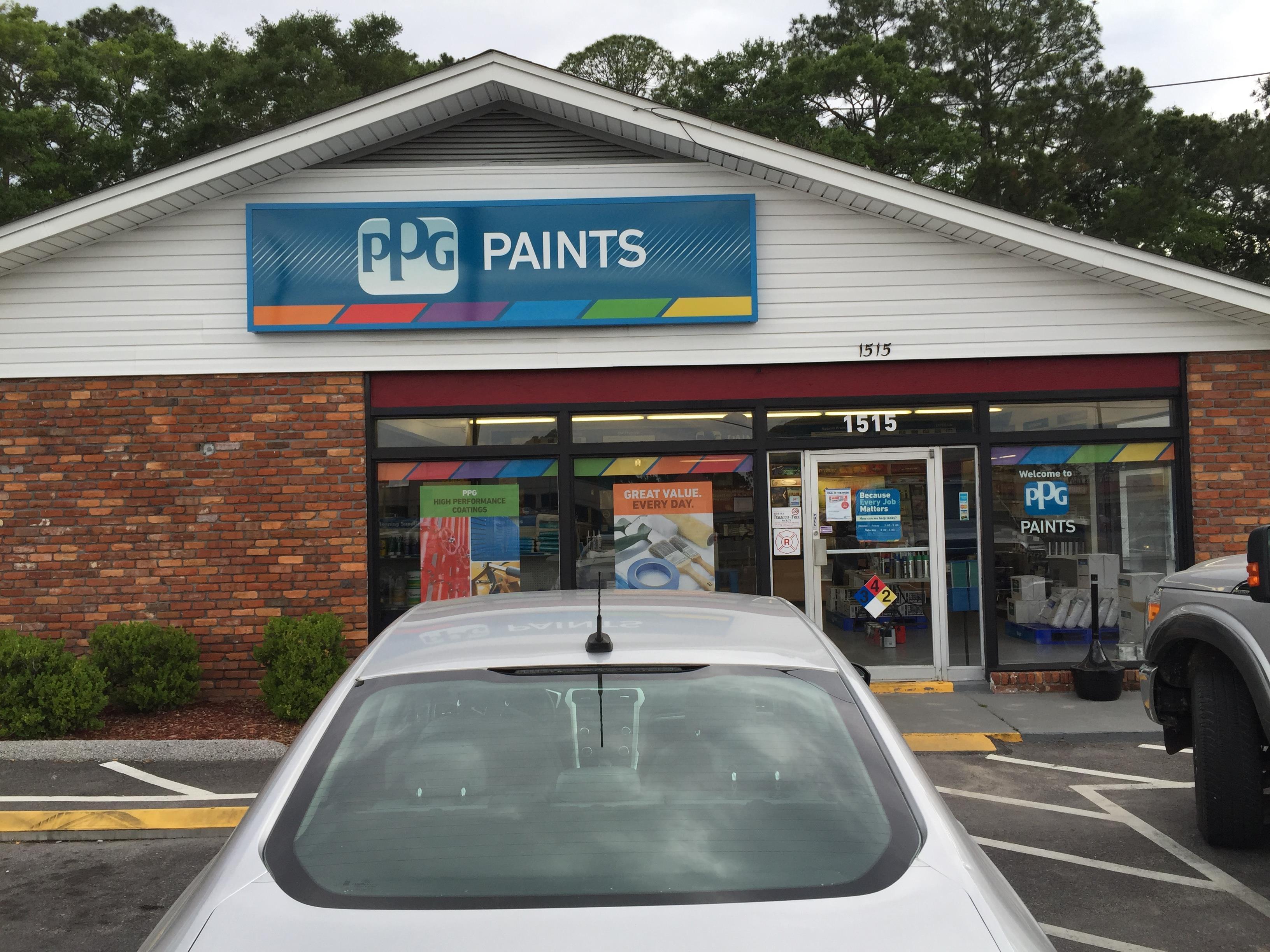 Ppg paints panama city paint store for Ppg automotive paint store